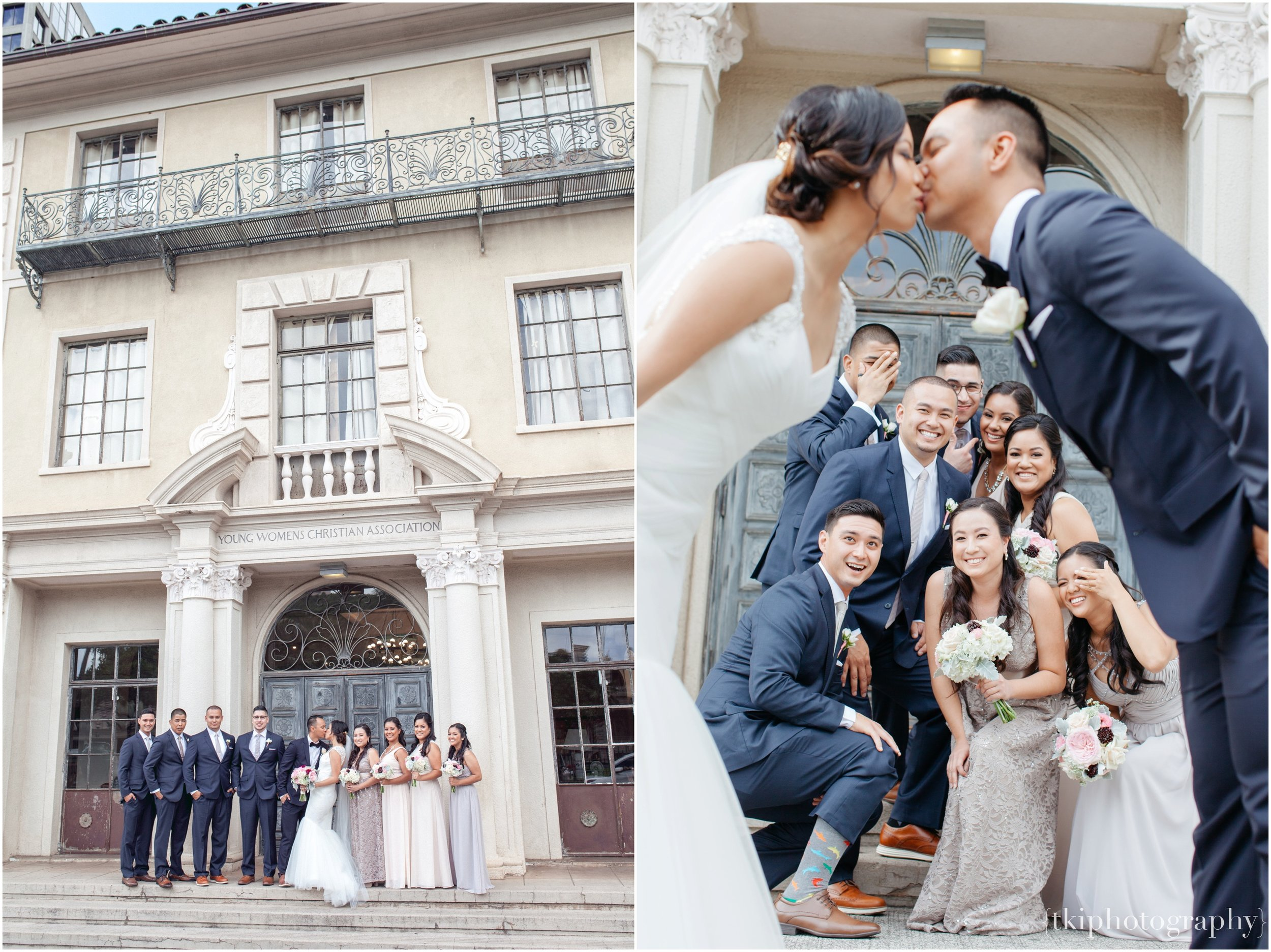 On a good day, having fun with the wedding party are great ways to gain some fun yet memorable shots.
