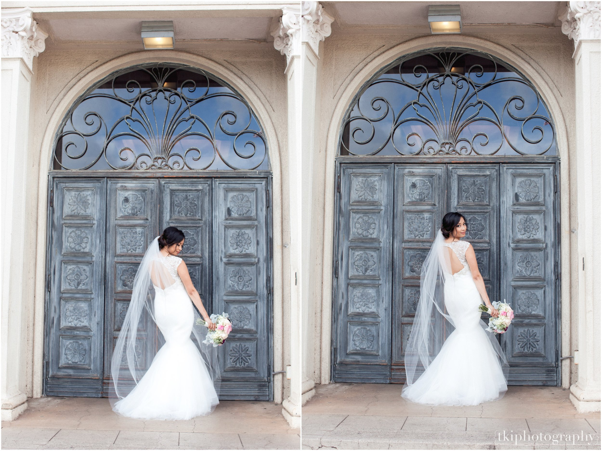 This front door at Cafe Julia YWCA is a great touch to some stunning portraits.