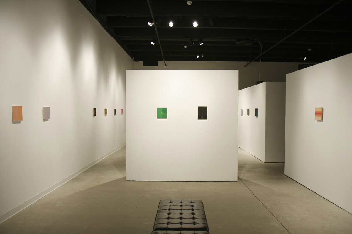 New Faculty Exhibition  Galleries of Contemporary Art UCCS (Colorado Springs, CO) 2008