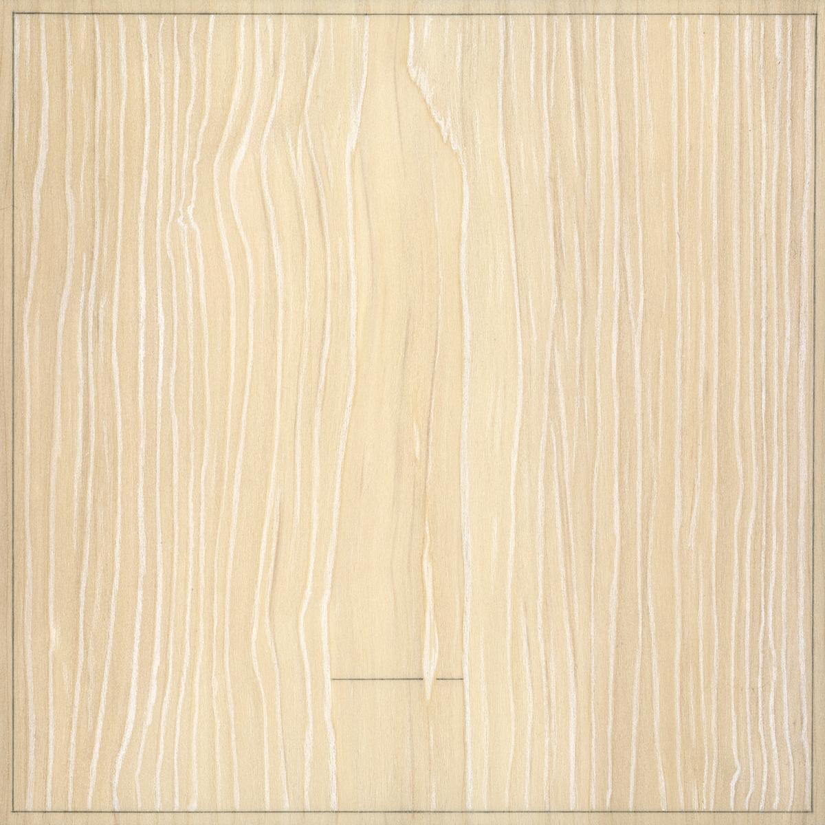 """Seven  Graphite / Colored Pencil / Wood 7"""" x 7"""" x 1"""" 2013"""