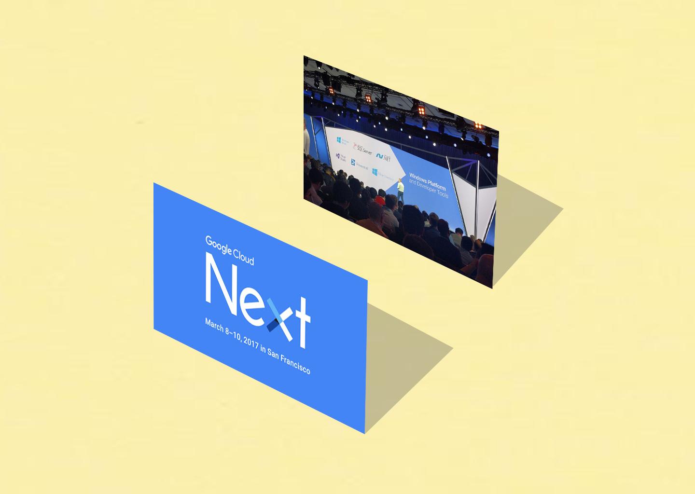 Google Cloud NEXT 17'