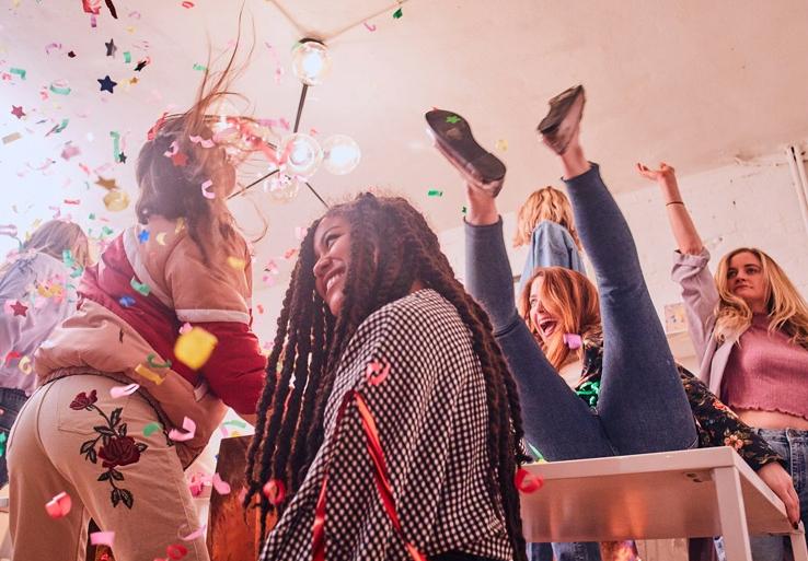 TOPSHOP X Man Repeller  Dancing Jeans: Zip On Your Best Self