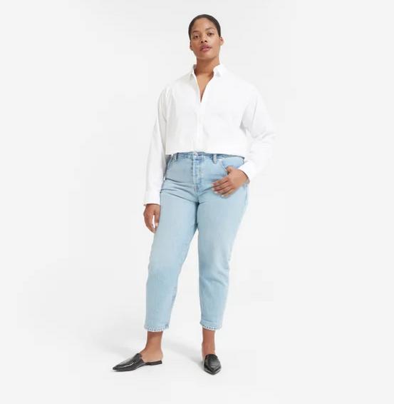 Everlane - The Relaxed Poplin Shirt — $55