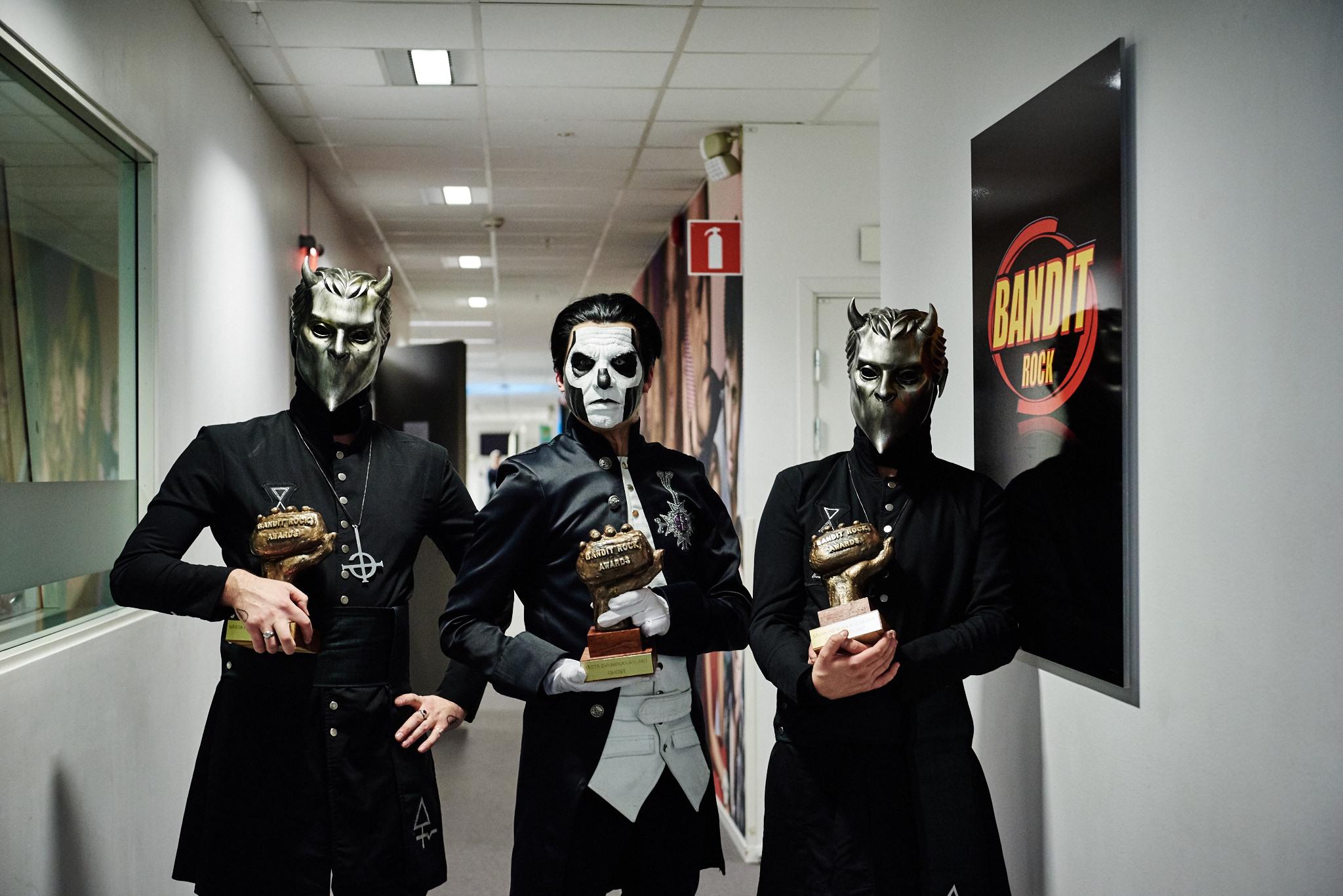 Ghost vann pris i alla svenska kategorier