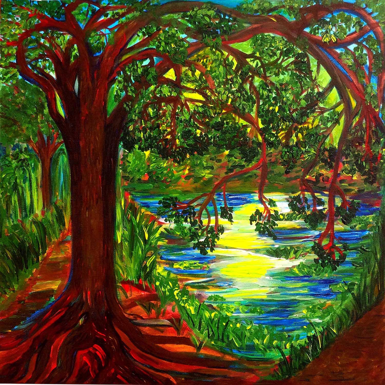 Bayou Mandala, Couturie Forest, II