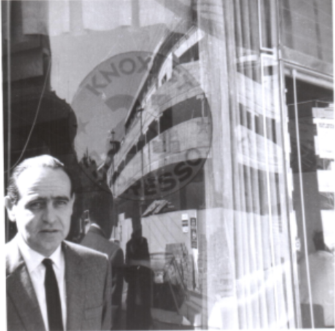 Jansci outside 21 in the early days