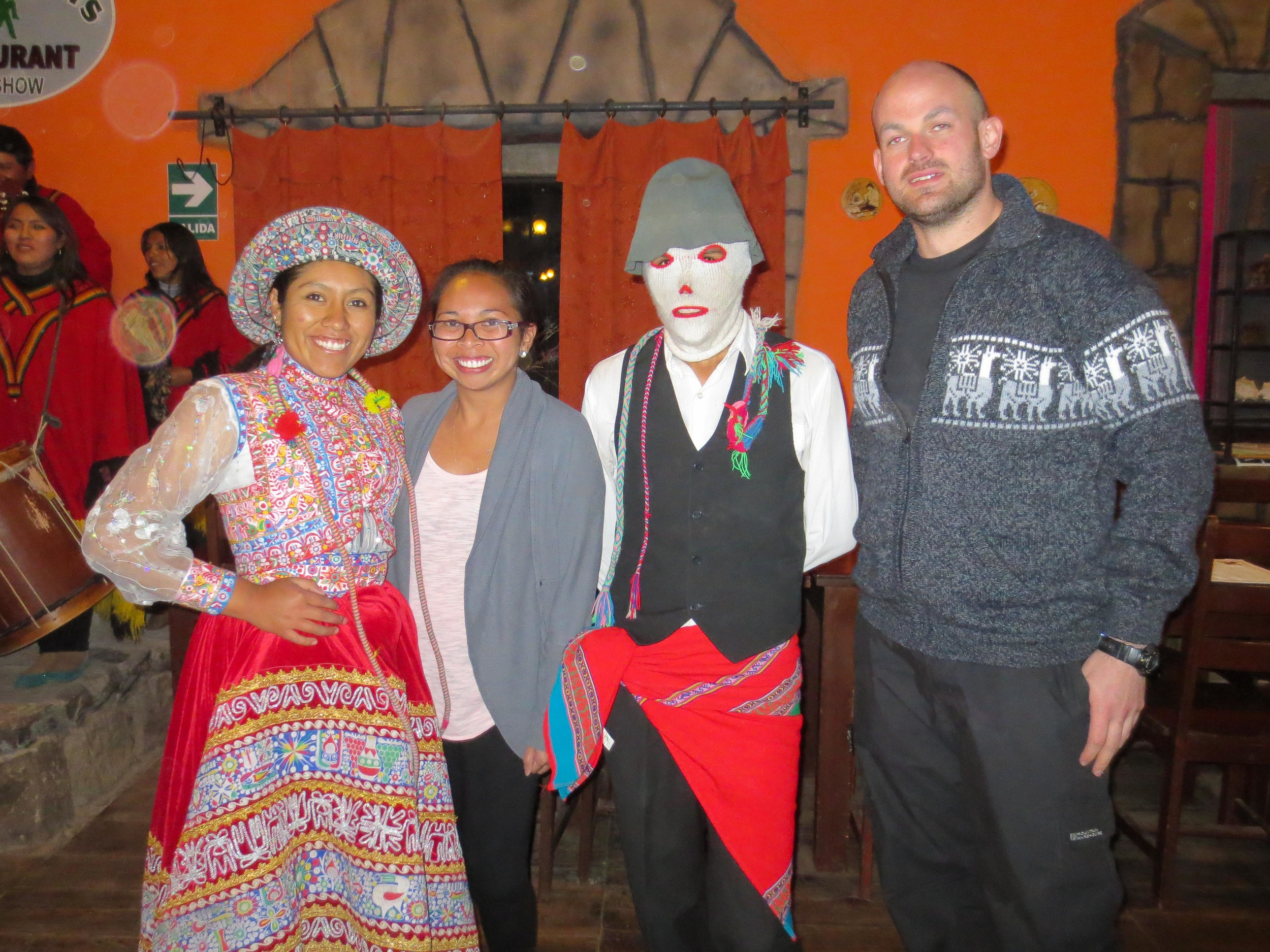 Steve and I got the opportunity to participate in the malaria dance.
