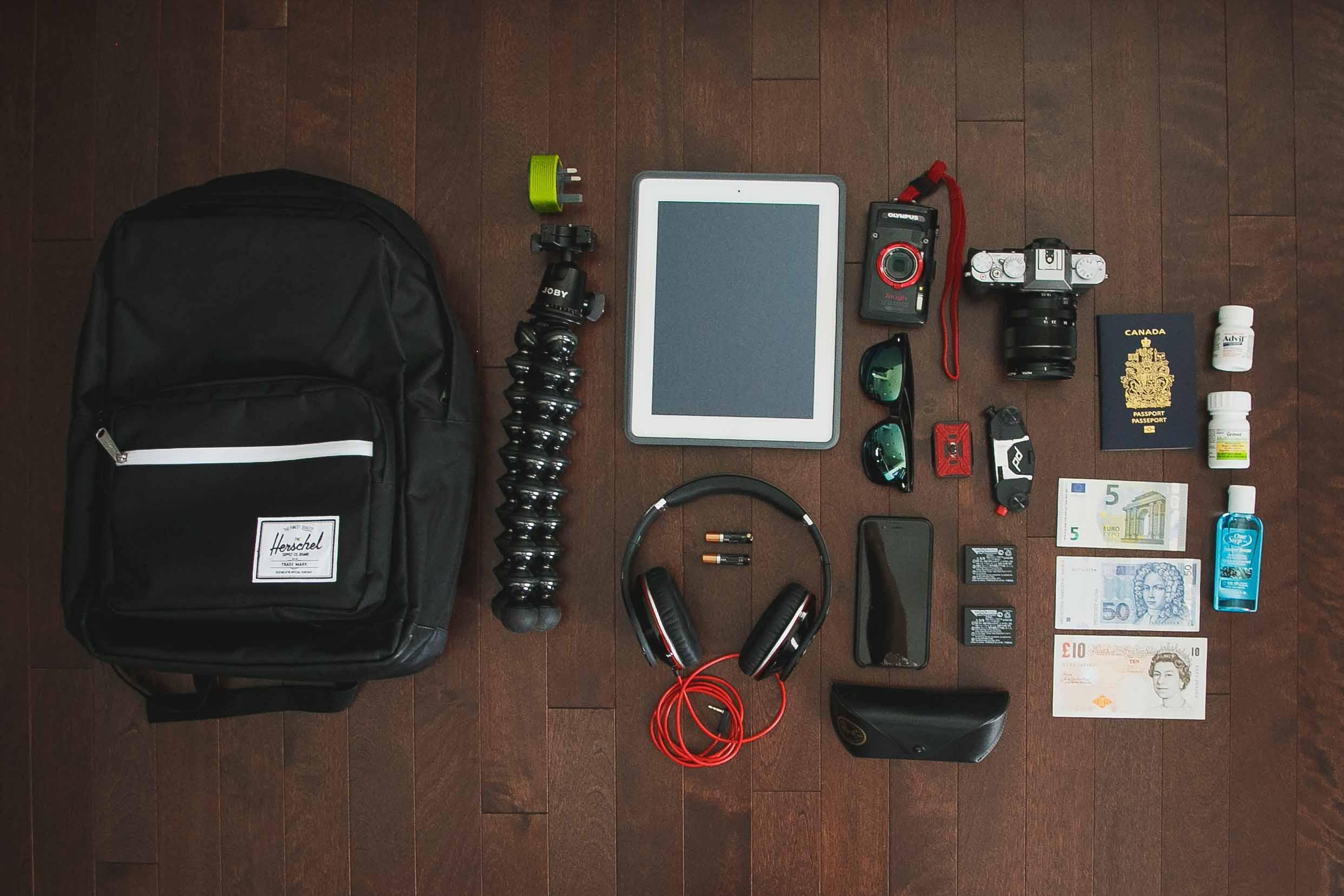 Euro Trip Carry-on Essentials
