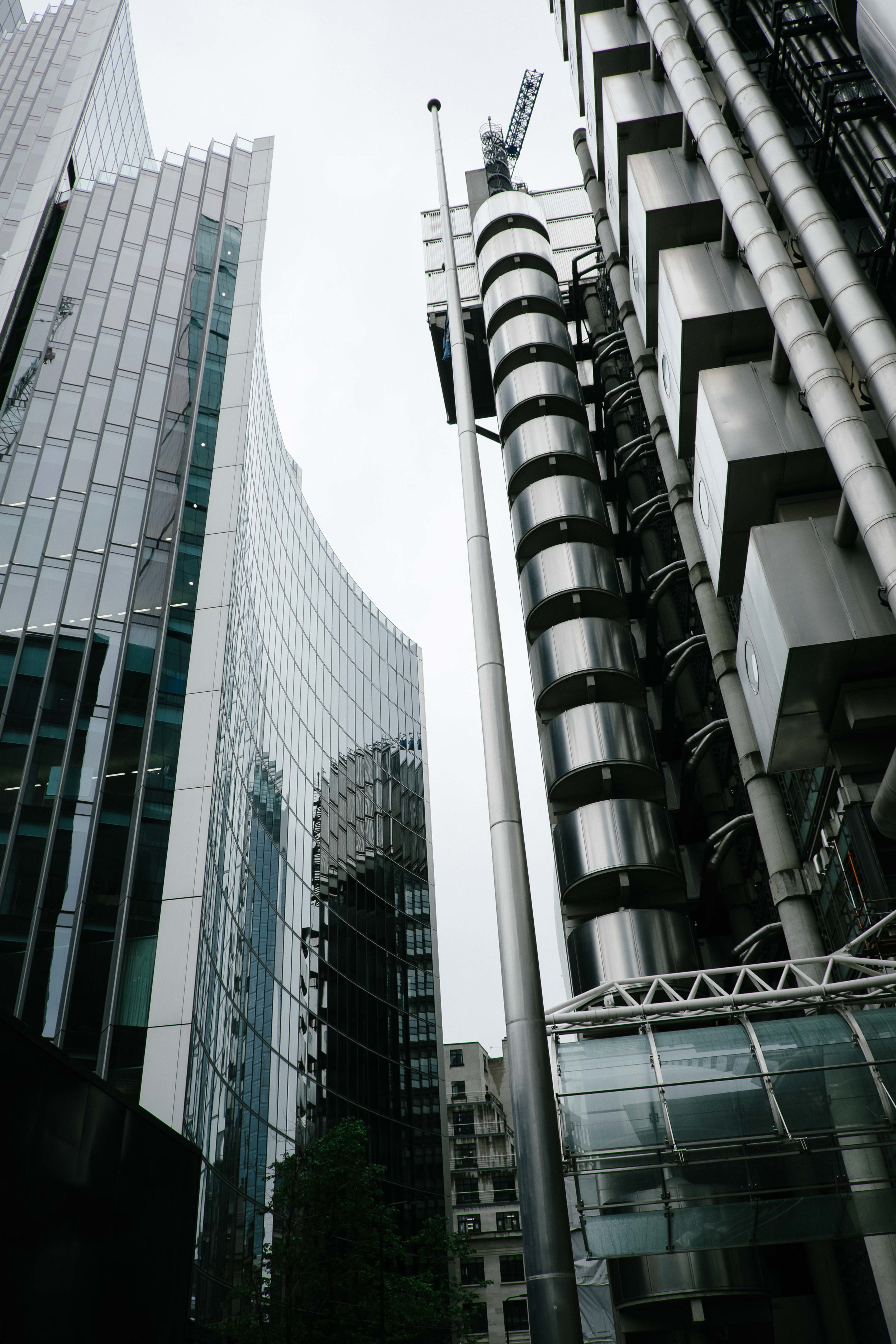 Willis Tower and Lloyd's of London