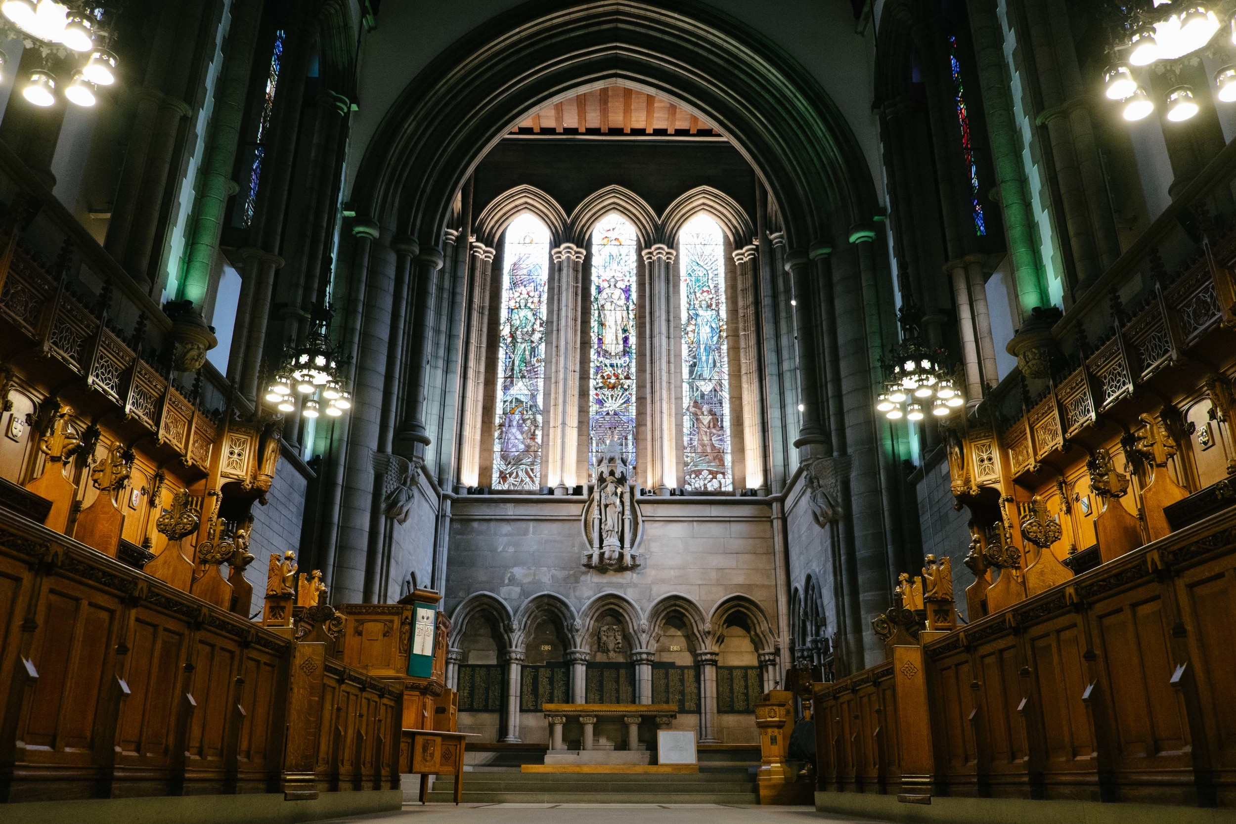 University of Glasgow Memorial Chapel