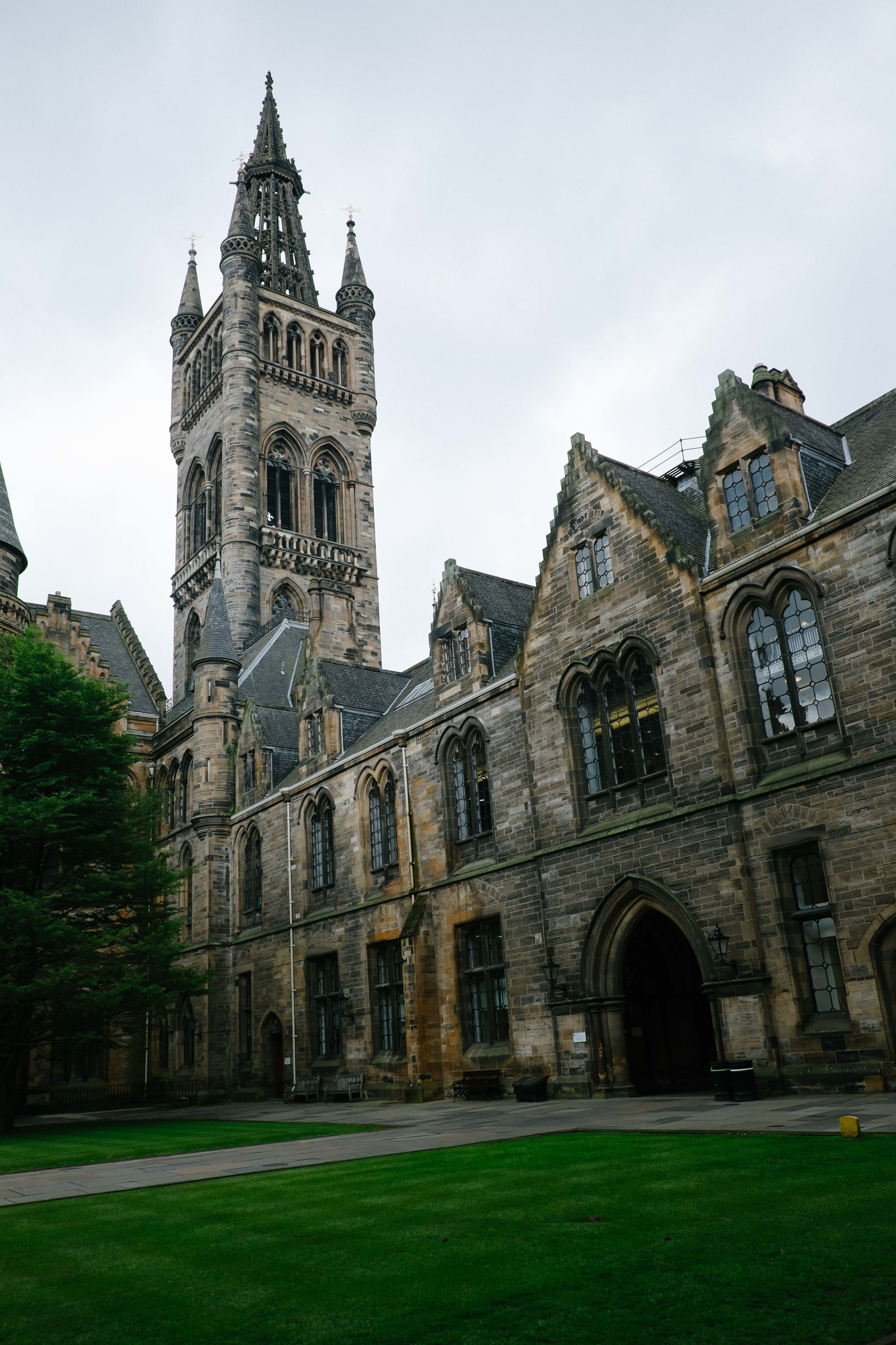 University of Glasgow - West Quadrangle/Gilbert Scott Building