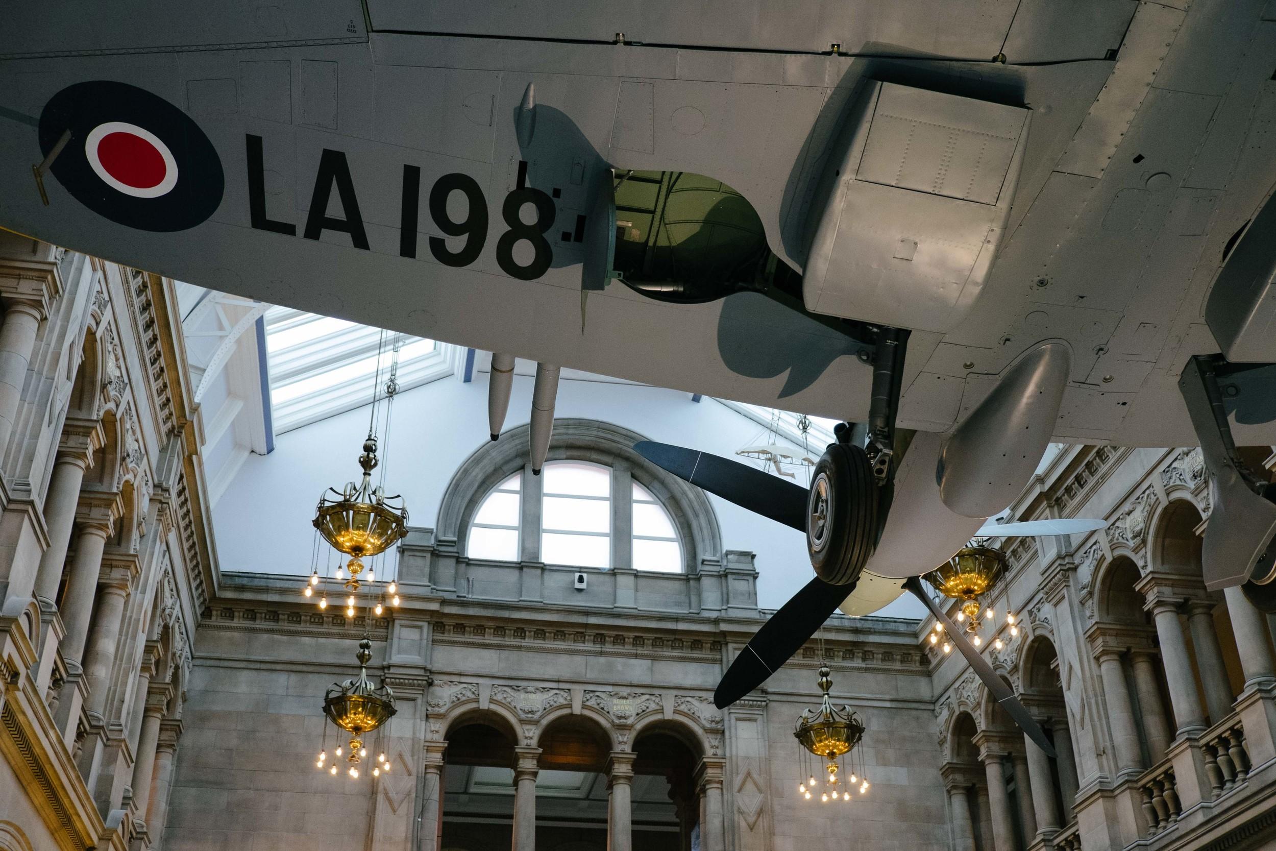 "Kelvingrove Art Gallery and Museum - "" Spitfire LA198"""