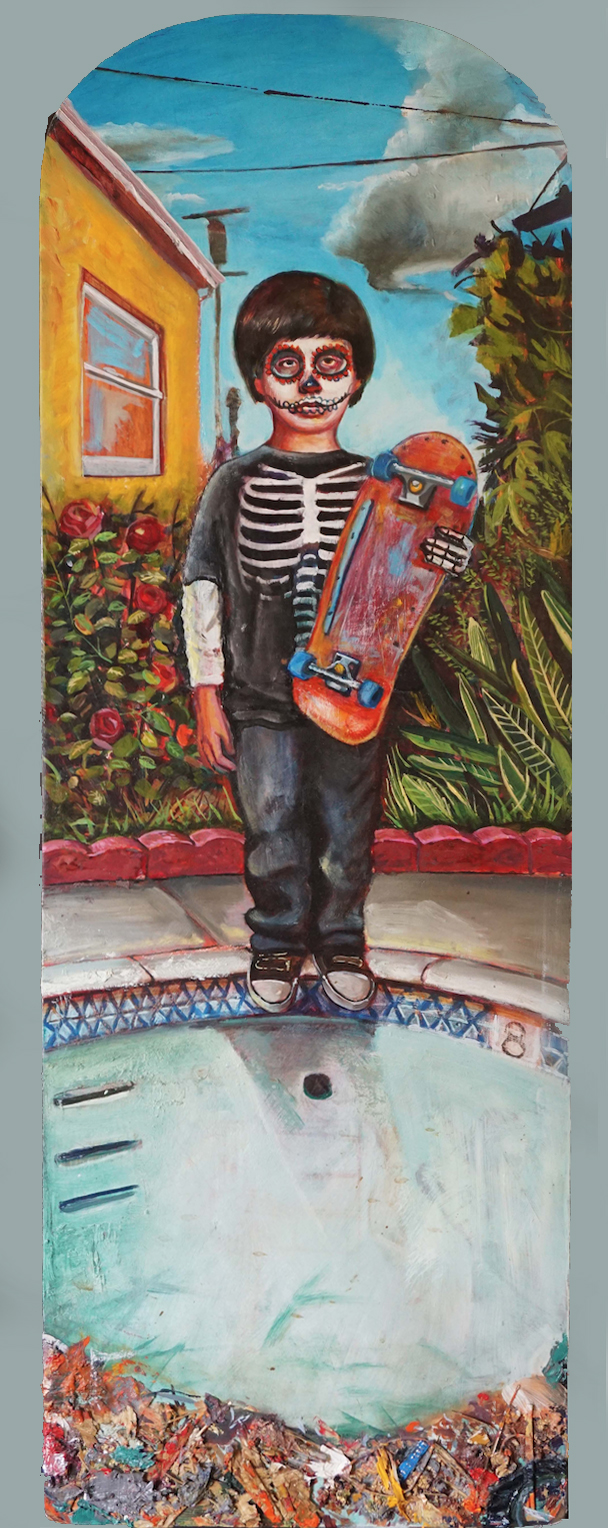 Emilio Patron Saint of 80's Skateboarding, 2013