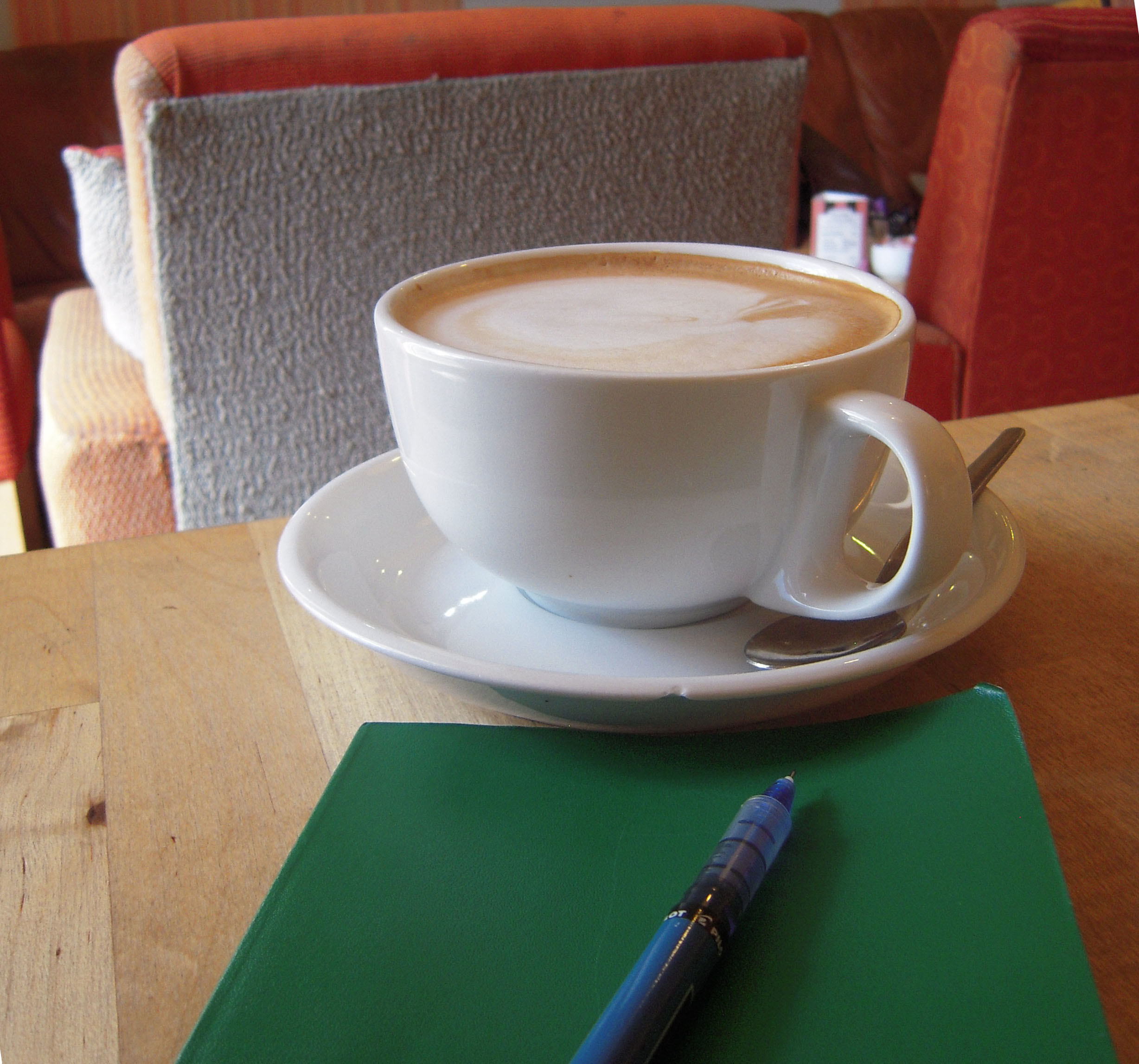 Journaling & lattes are two of my favorite things!