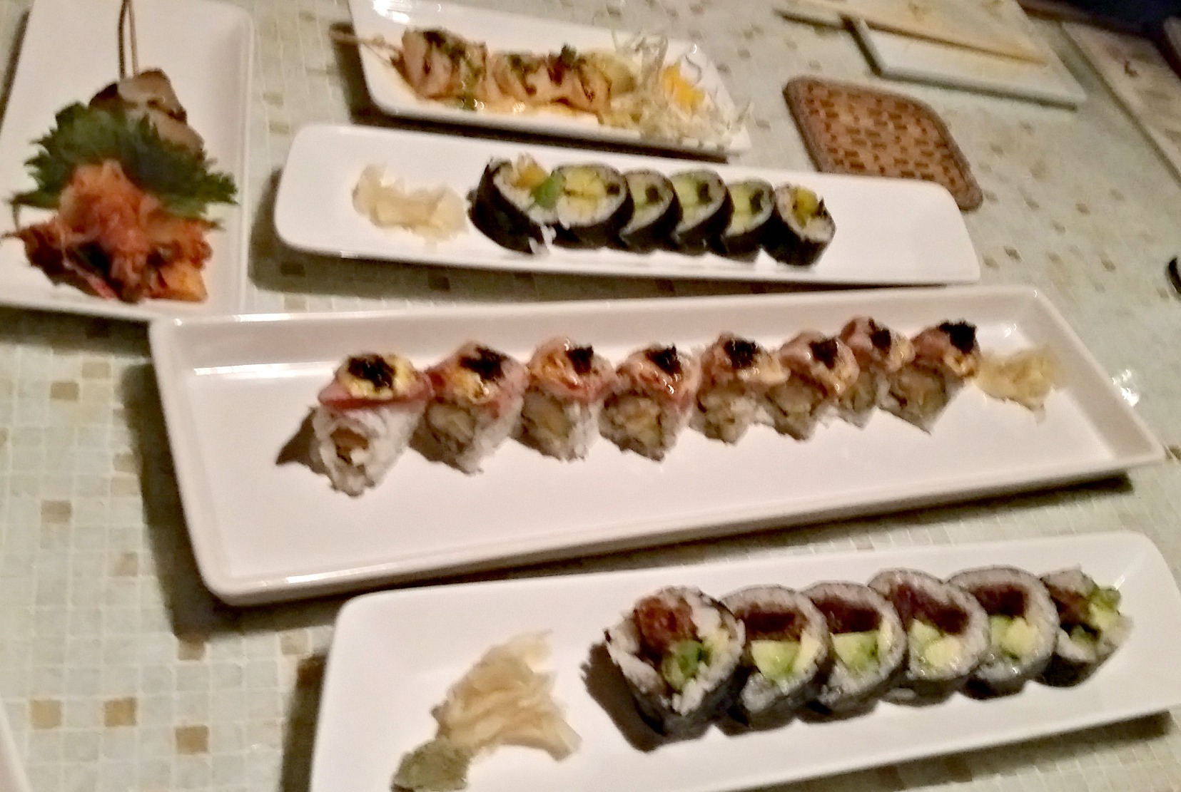 Japanese ... sushi.