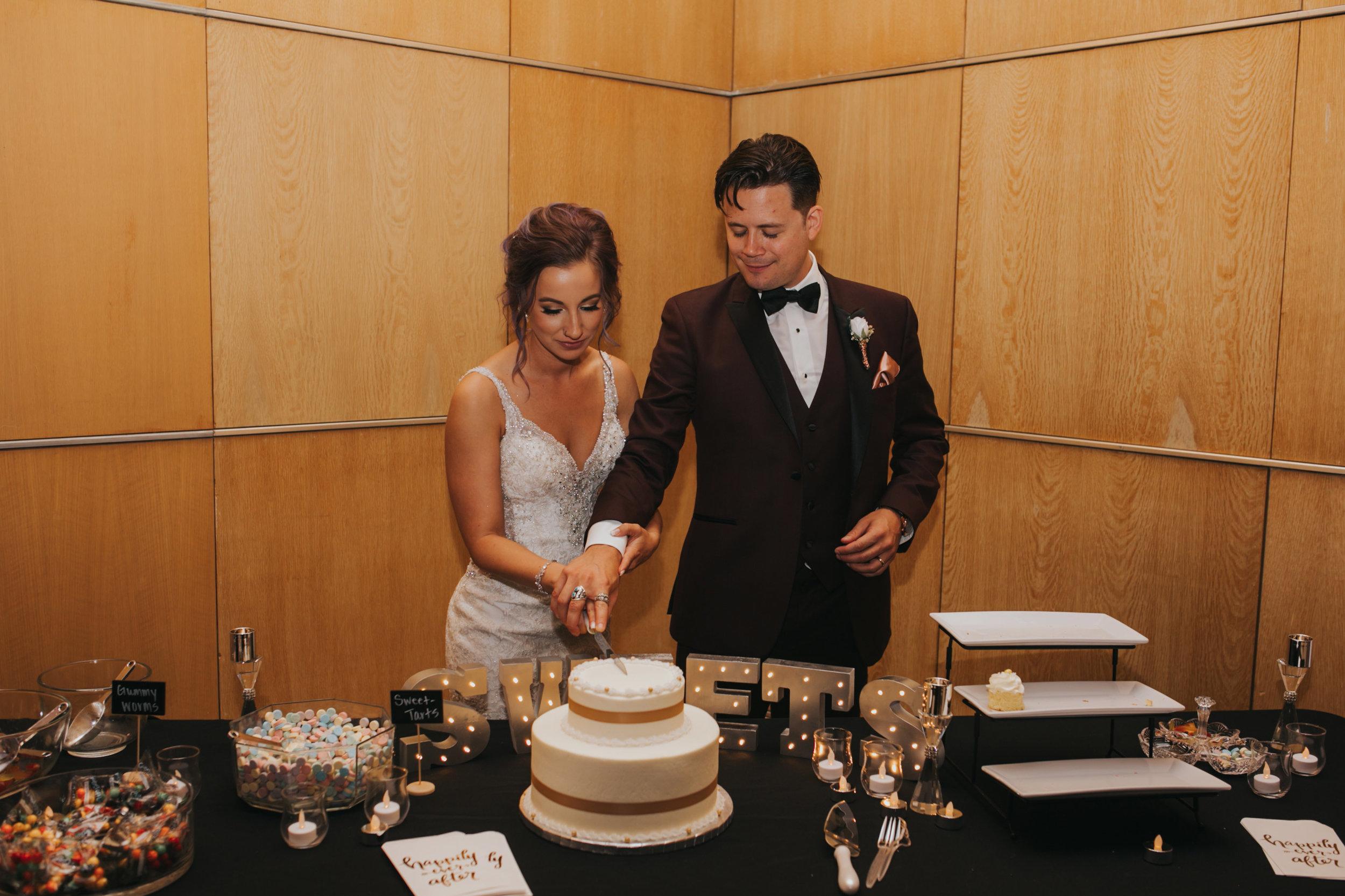 bride-groom-cutting-cake-desmoines-iowa-art-center-raelyn-ramey-photography.jpg
