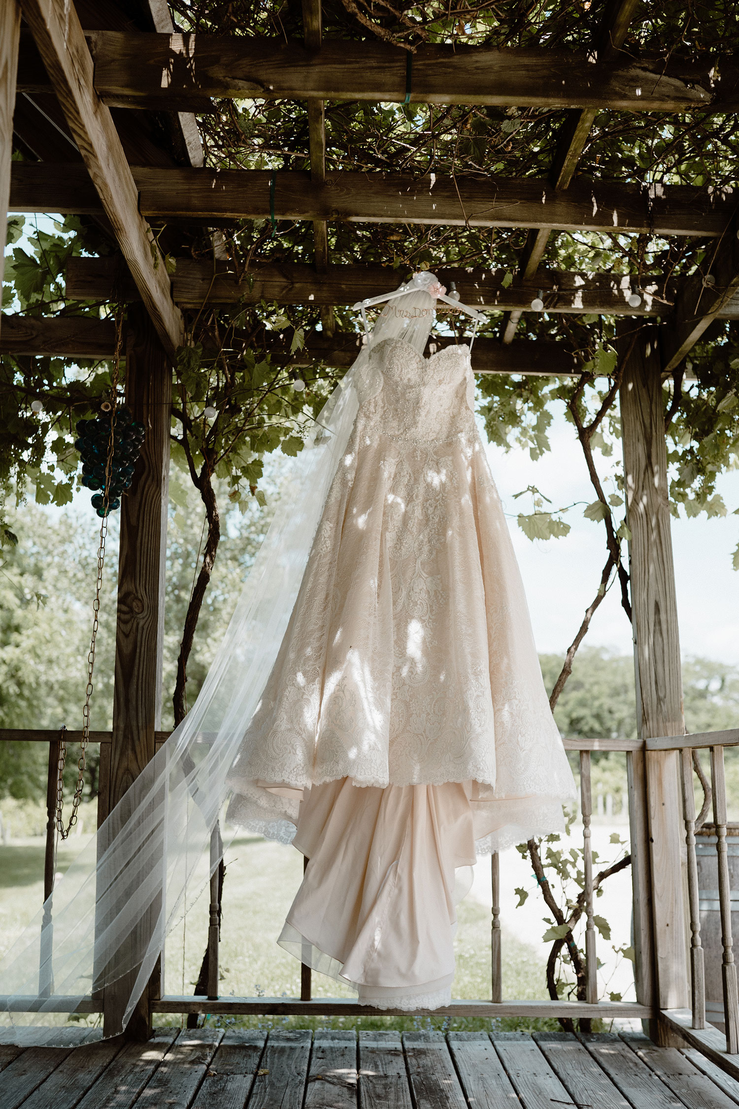 wedding-gown-hanging-from-tellis-wedding-summerset-winery-indianola-iowa-raelyn-ramey-photography.jpg