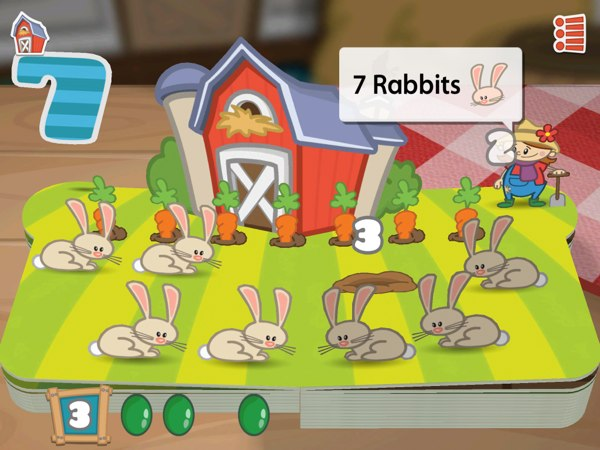 Farm 123 is an adorable 3D pop-up book for juniors to learn counting.