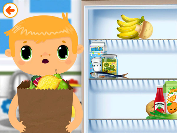 Toca House review - In the app, your juniors can learn about household chores and how to participate in them.