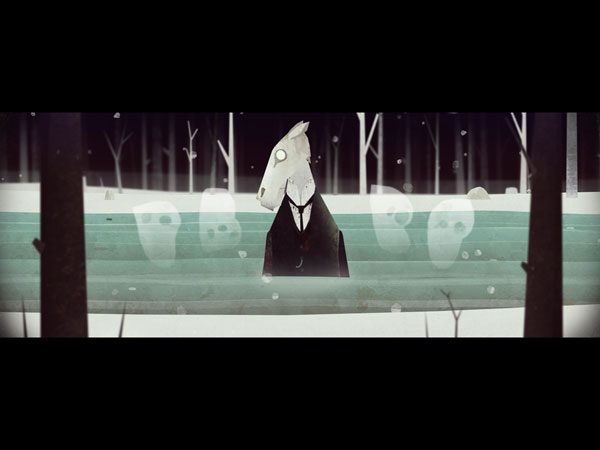 Year Walk is a stylish first-person horror adventure that draws inspiration from Swedish folklore