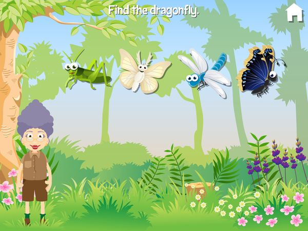Grandma Love Bugs is a fun and educational app that lets kids play and learn with bugs