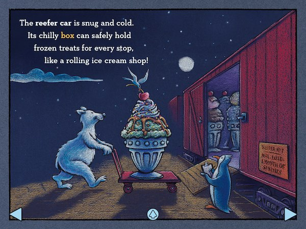Steam Train, Dream Train is a terrific bedtime story for kids who love trains