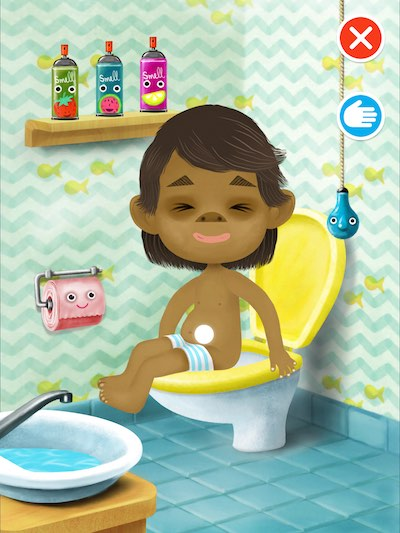 The role-playing game Pepi Bath 2 brings new characters, scenes, and better graphics