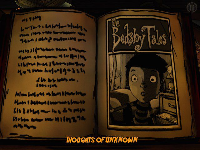 Read the first short scary story in The Bedsby Tales titled Thoughts of Unknown.