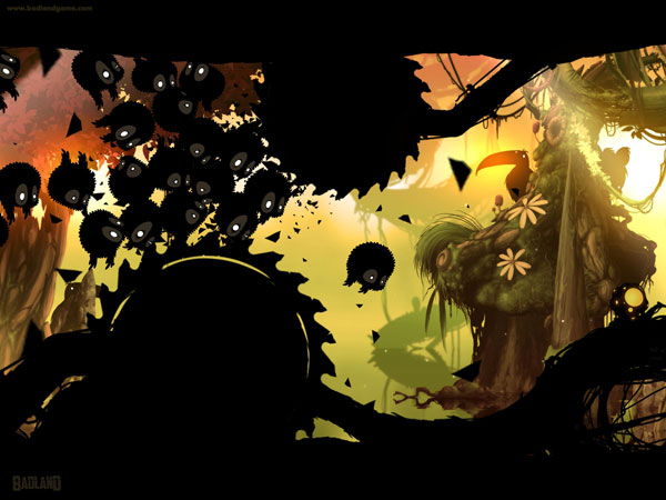 One of the most thrilling titles of the year, BADLAND offers an addictive and atmospheric gameplay.