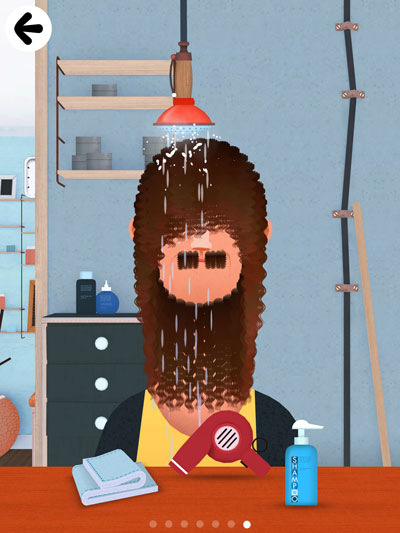 Toca Hair Salon 2 review - Perfectly executed app with great visuals.
