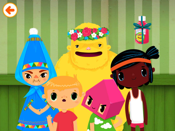 Toca House review - Much like in the real world, a family inhabits the Toca House and shares the workload evenly amongst themselves.