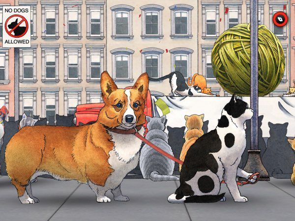 David Wiesner's Spot is a beautiful app filled with great illustrations and immersive transitions.