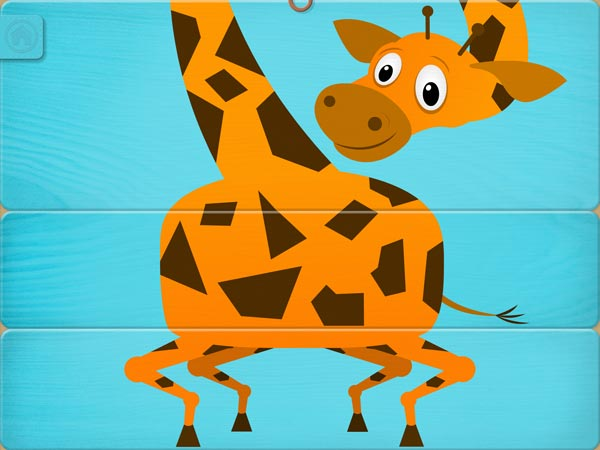 Included are enough body parts to create 15 matching animals or 2,700 other possible hybrids.