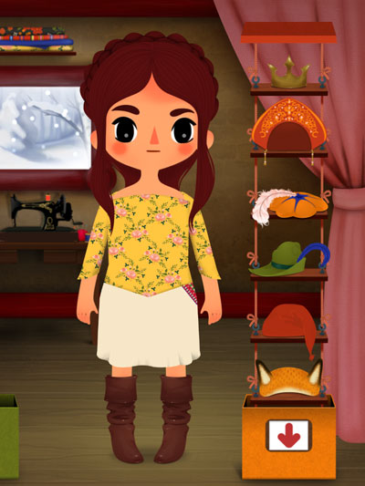 Toca Tailor Fairy Tales review - Can you recreate costumes from famous fairy tales?