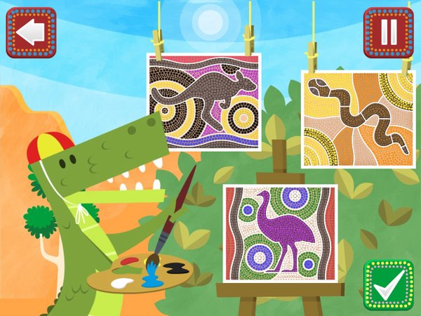 Pacca Alpaca - Australia lets you learn new languages as you explore the continent and meet its inhabitants.