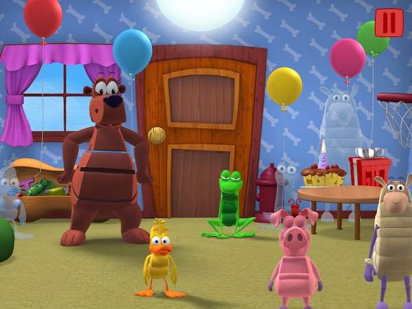 WordWorld Tales appisodes app promote early literacy through a blend of fun animations and games.