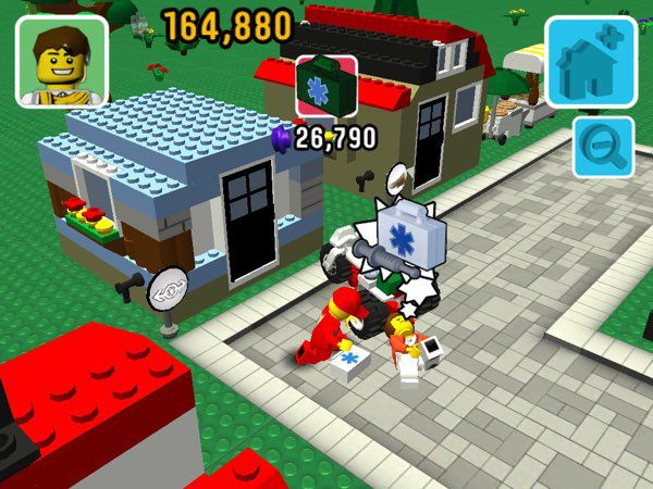 LEGO Fusion Town Master allows you to play as the town mayor, expanding new buildings and taking care of your citizens.