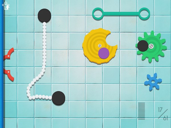 Crazy Gears helps kids learn about STEM concepts through fun, physics-based puzzles
