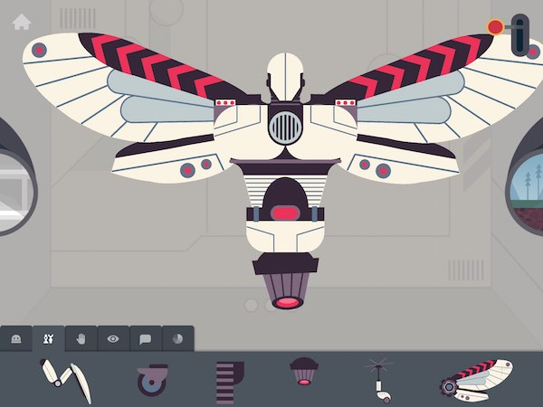 Choose from 50+ body parts to build your dream robot in The Robot Factory