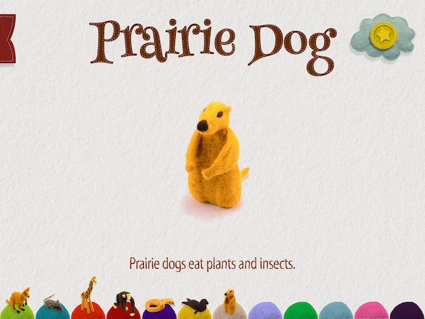 Read the story repeatedly to collect all 12 animals and fun facts