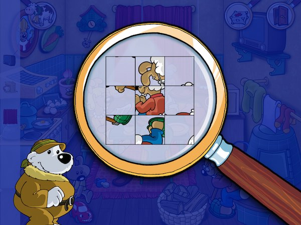 Some puzzles are more challenging than others, but they are doable by kids ages 4+