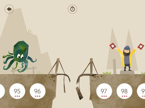 The game includes 99 levels with differing themes, from farm animals to marine creatures and nautical flags.