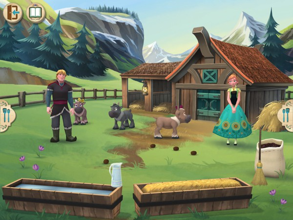 Frozen: Early Science introduces kids to animal care and cooking
