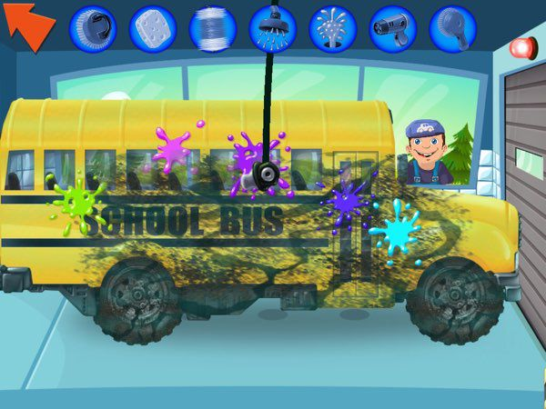 The vehicles in this game are really dirty. It's going to take a lot of effort to clean them up.