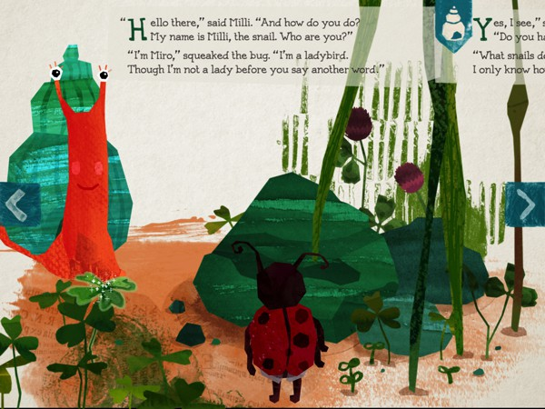 Milli: A Small Snail in a Big World is a vibrant, interactive tale that encourages kids to discover what makes them special