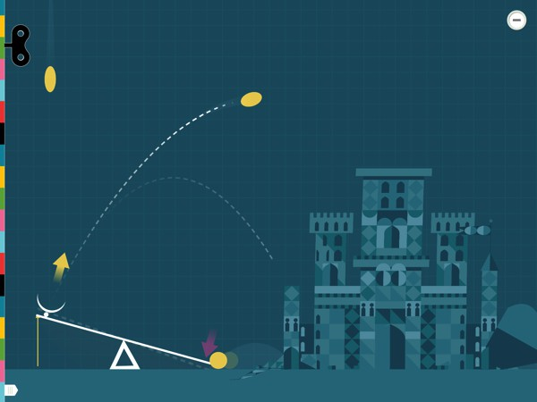 Tracing the arrows, you can learn how a simple machine changes your input force