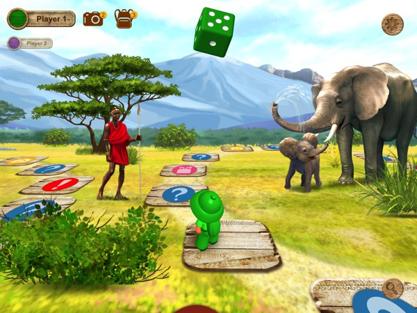 We Discover Africa: Safari Quest is a beautiful board game for kids of all ages