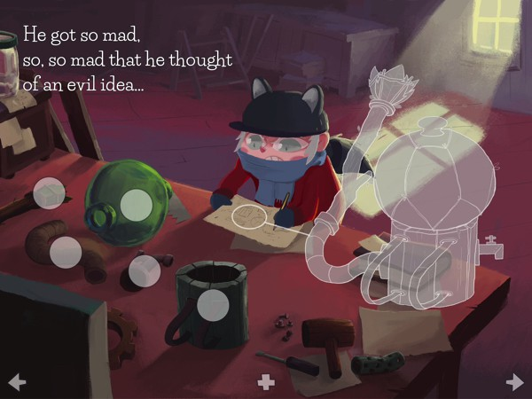 Nurot is a beautifully illustrated tale about the importance of communication, love, and redemption