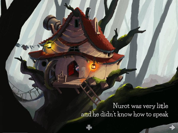 Gorgeous artwork and character design contribute to the app's appeal