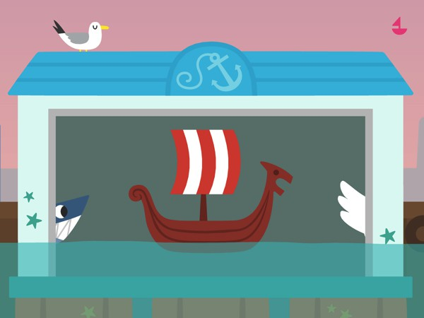 Select from a variety of boat designs which include viking and pirate ships, shark boats, swan boats, and more